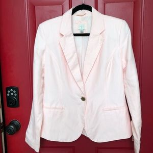 A New Day Pink Blazer. Sz 10. Fully lined